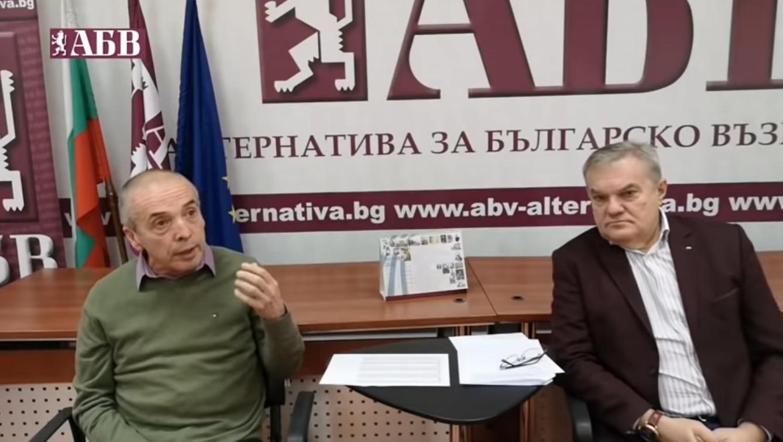 Мангъров ще води листите на АБВ в София и Варна