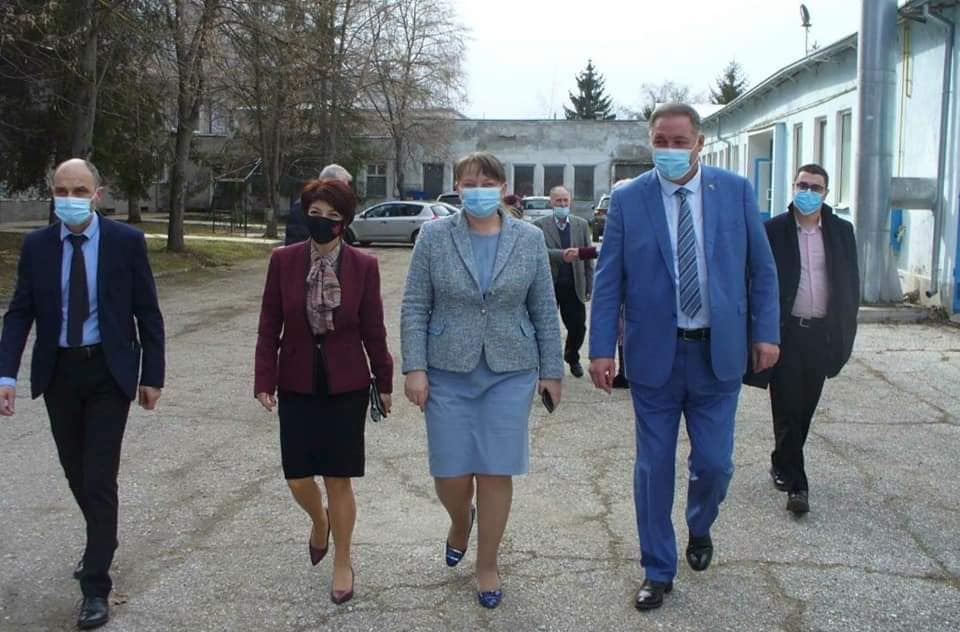 Деница Сачева и Десислава Атанасова бяха на работно посещение в Разград