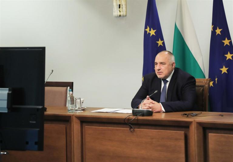 Министър-председателят Бойко Борисов участва във видеоконференцията на членовете на Европейския съвет