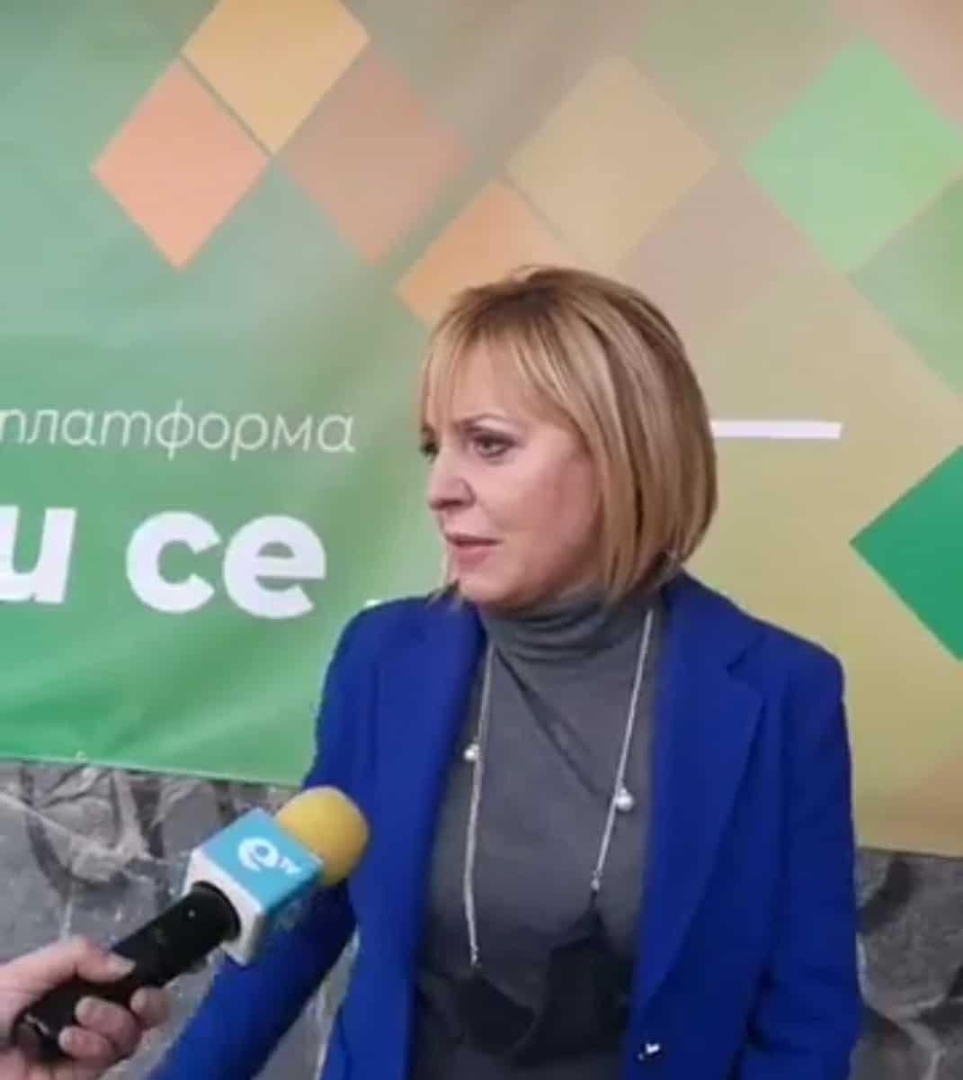 """Манолова: Подкрепяме ветото на президента за """"надглавния"""" прокурор"""