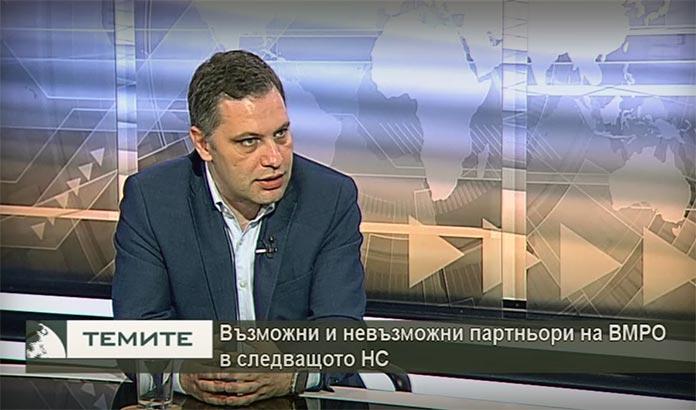Александър Сиди: Категорично с ДПС няма да работим