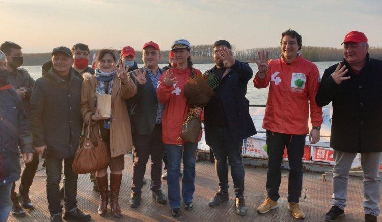 """От борда на """"Лодката на Свободата"""": Българското поречие на Дунав ще бъде активна икономическа и туристическа зона"""
