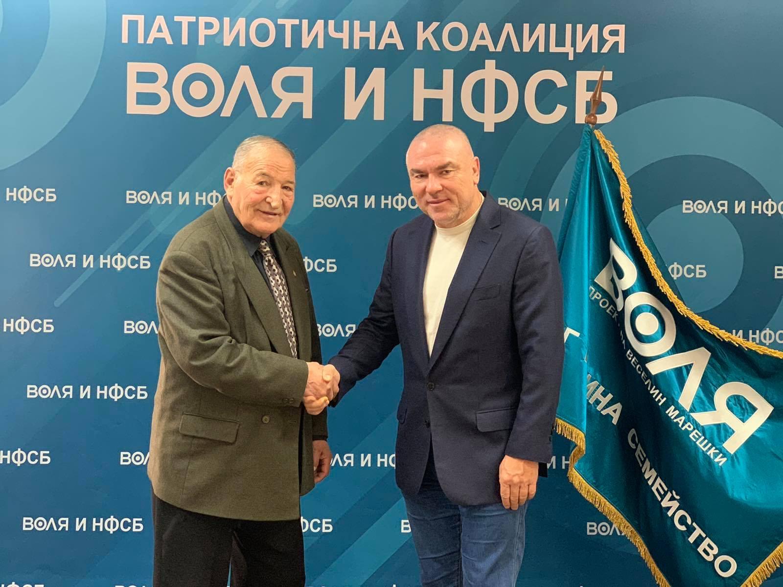 Марешки представи Димитър Пенев
