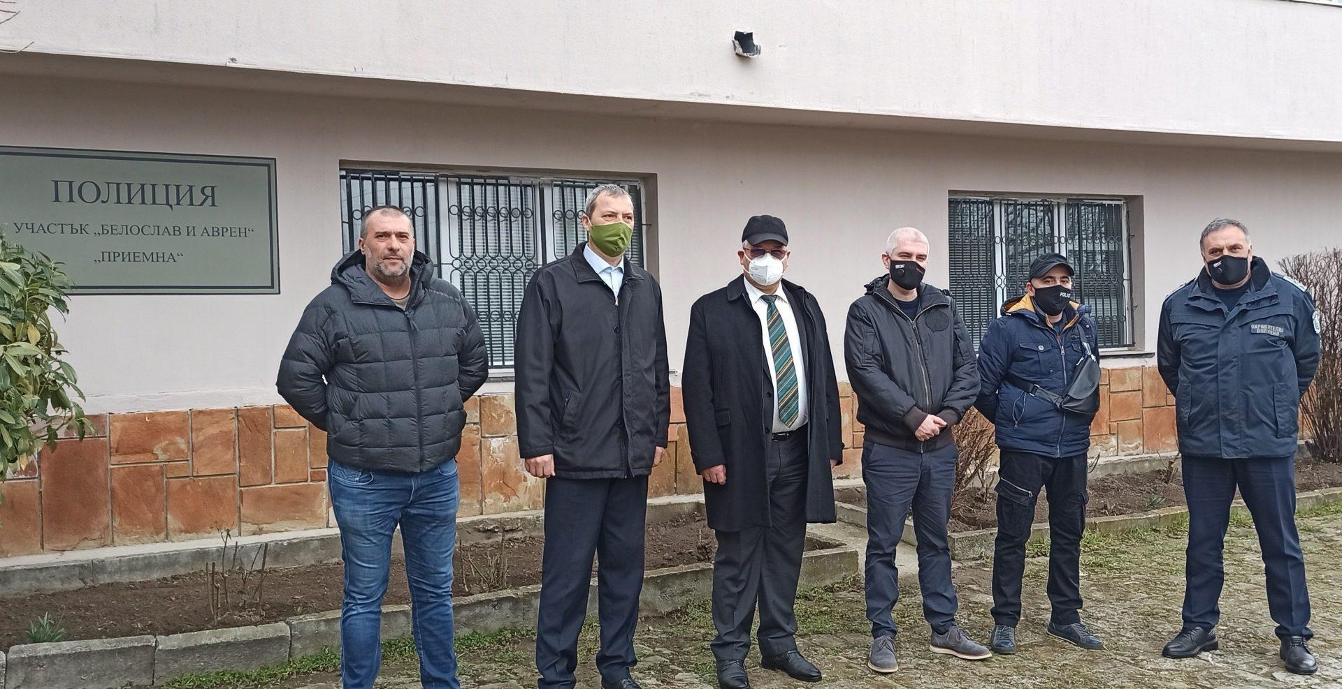 Полицейските служители от ОДМВР – Варна ще обслужват жителите на община Аврен в нови приемни помещения