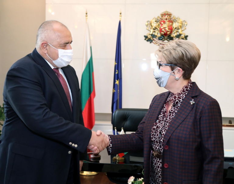 Министър-председателят Бойко Борисов се срещна с посланика на Руската федерация Елеонора Митрофанова
