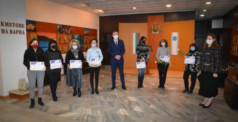 Кметът връчи награди по повод Световния ден на социалната работа