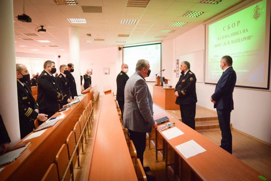 Кметът Иван Портних участва в командирски занятия на ВВМУ