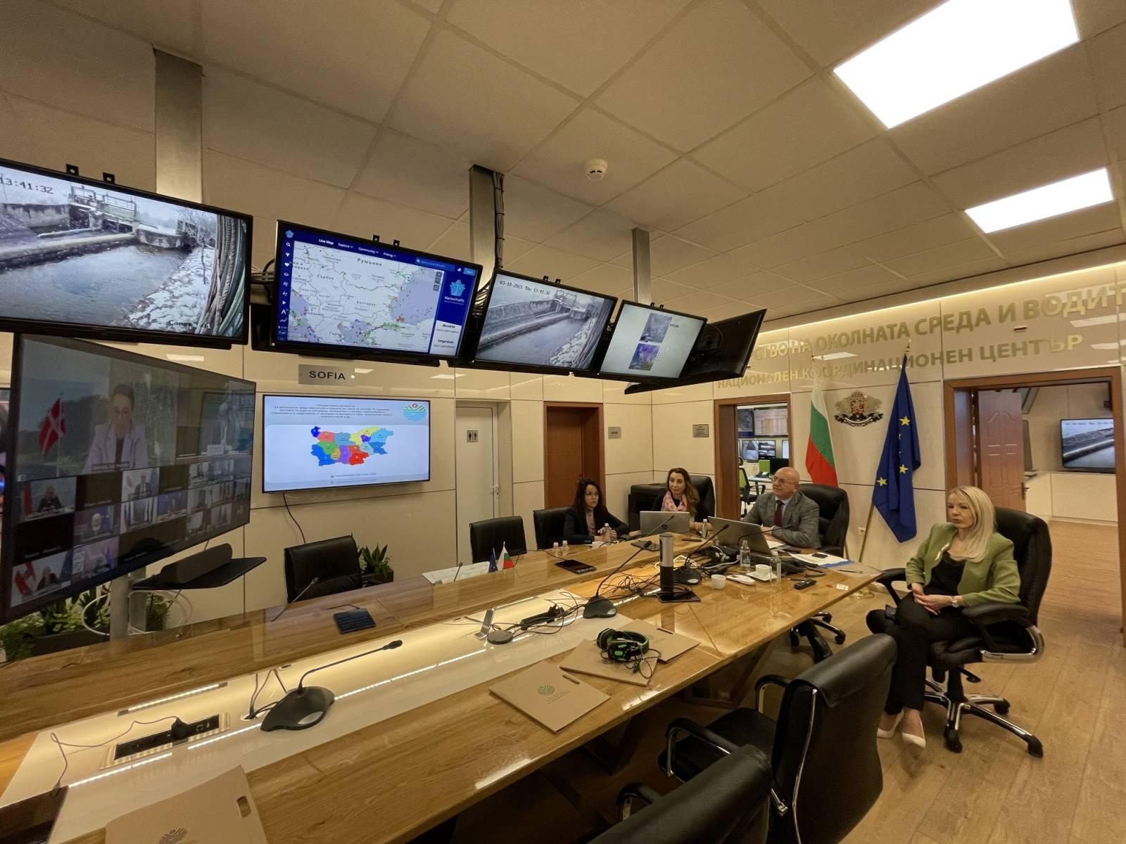 Министър Димитров участва в неформалната видеоконференция на министрите на ЕС по околна среда