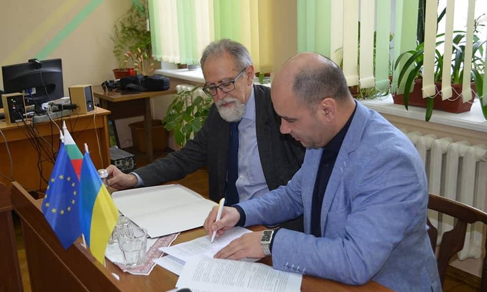 Технически университет – Варна и Държавния аграрен институт в Одеса подписаха меморандум за разбирателство