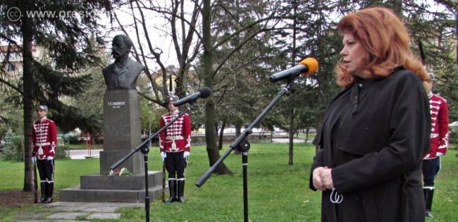 Вицепрезидентът: Имате свободна държава, но пазете държавността, зове Раковски днес