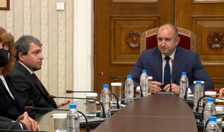 Румен Радев: Обществото очаква резултати от работата на парламента в интерес на гражданите