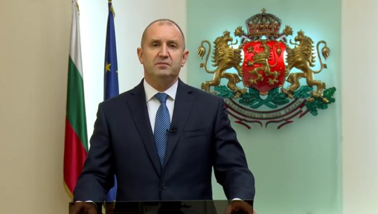 """Президентът Румен Радев: Изборите ще бъдат """"2 в 1"""" на 14 ноември"""
