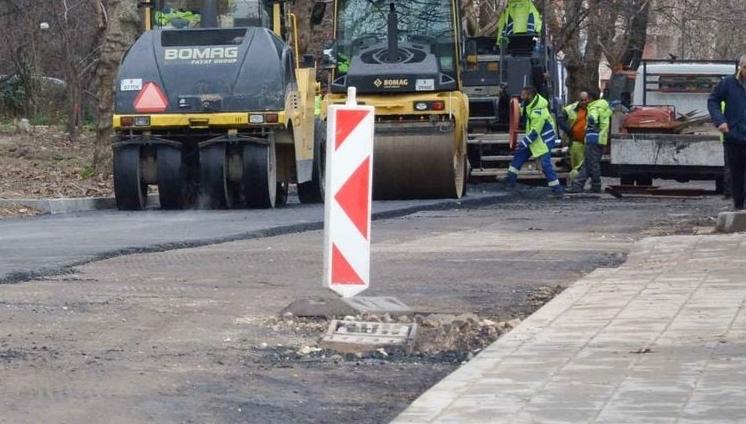 """Утре ул. """"Анастасия Железкова"""" във Варна ще бъде затворена за ремонт"""