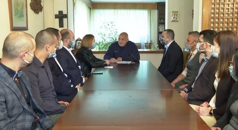 Бойко Борисов: Отговорността за следващите избори е на Слави Трифонов и Румен Радев
