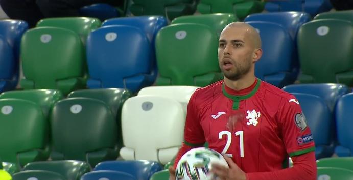 България спечели първа точка в Белфаст