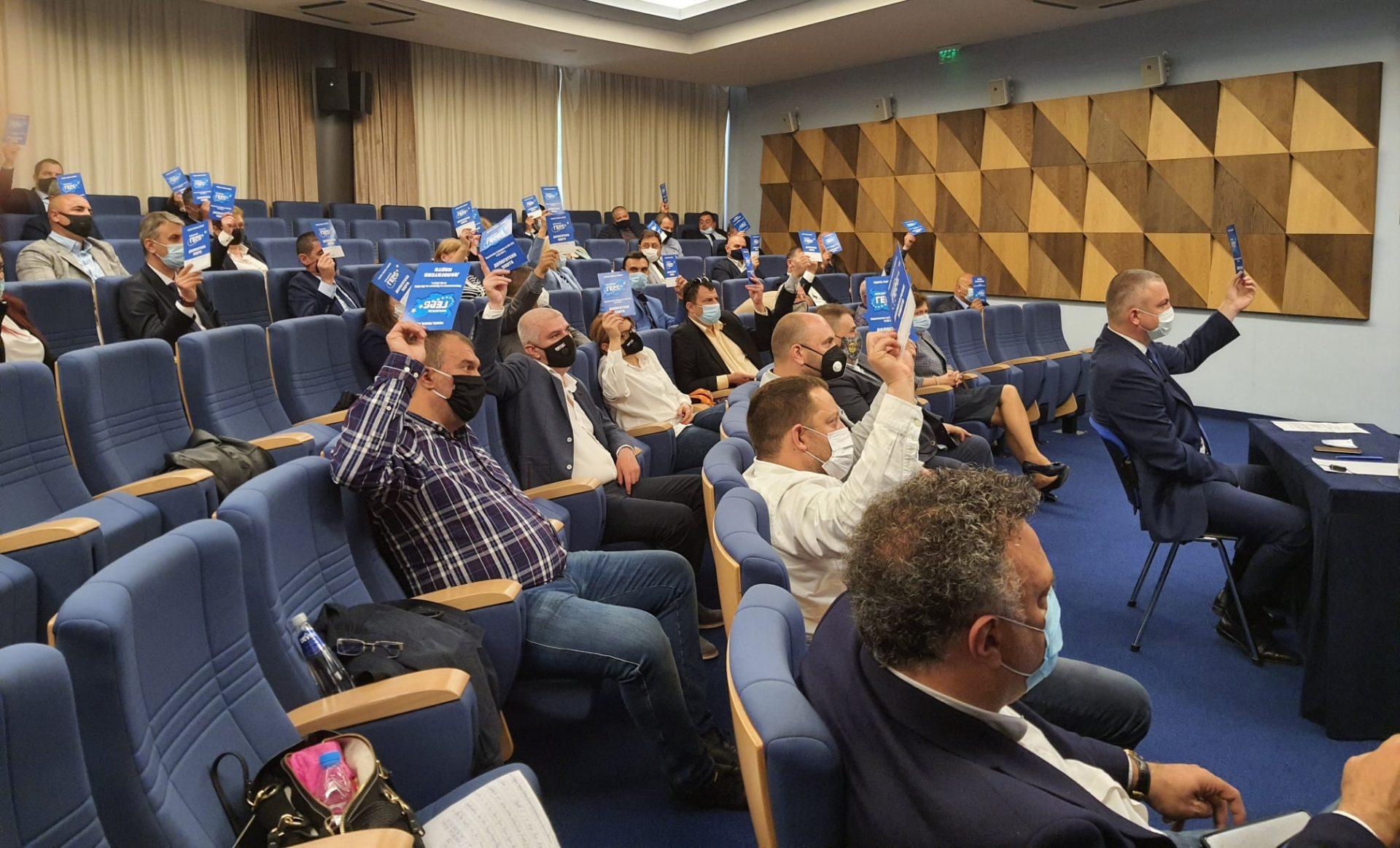 51 делегати от ПП ГЕРБ – Варна участваха онлайн в Националното събрание на партията