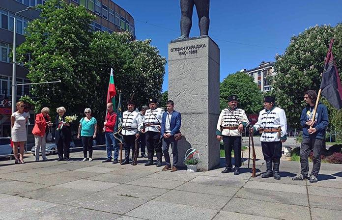181 години от рождението на Стефан Караджа отбелязаха в Русе