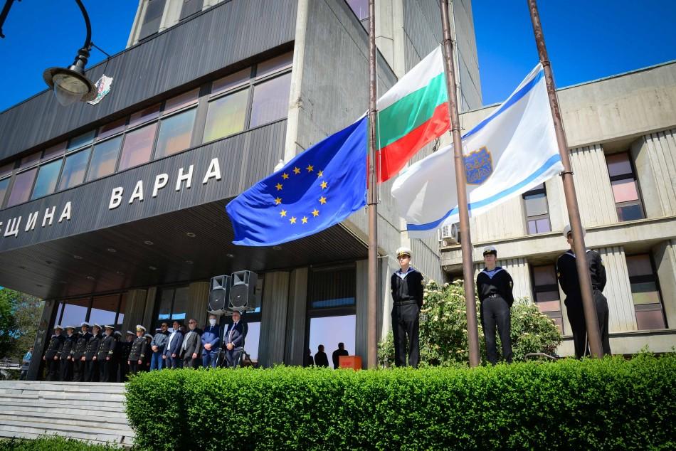 Варна почете 9-ти май – Ден на победата и Ден на Европа