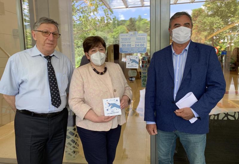 """Курортен комплекс Албена получи първия стикер """"100% ваксинирани"""""""