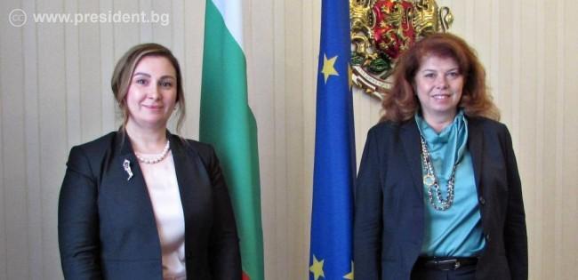 Възможности за сътрудничество обсъдиха вицепрезидентът и иракският посланик