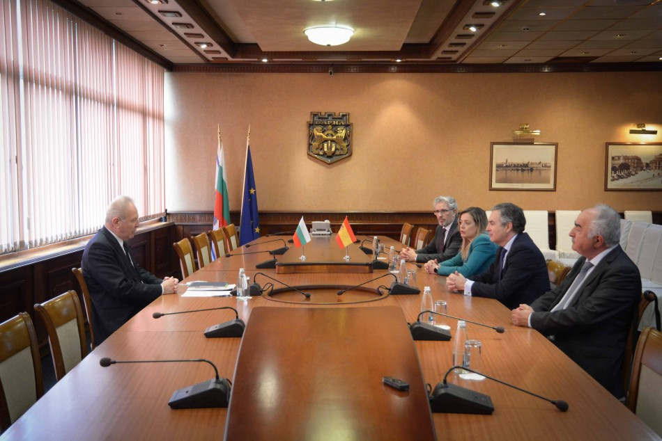 Посланикът на Кралство Испания бе на посещение в Община Варна
