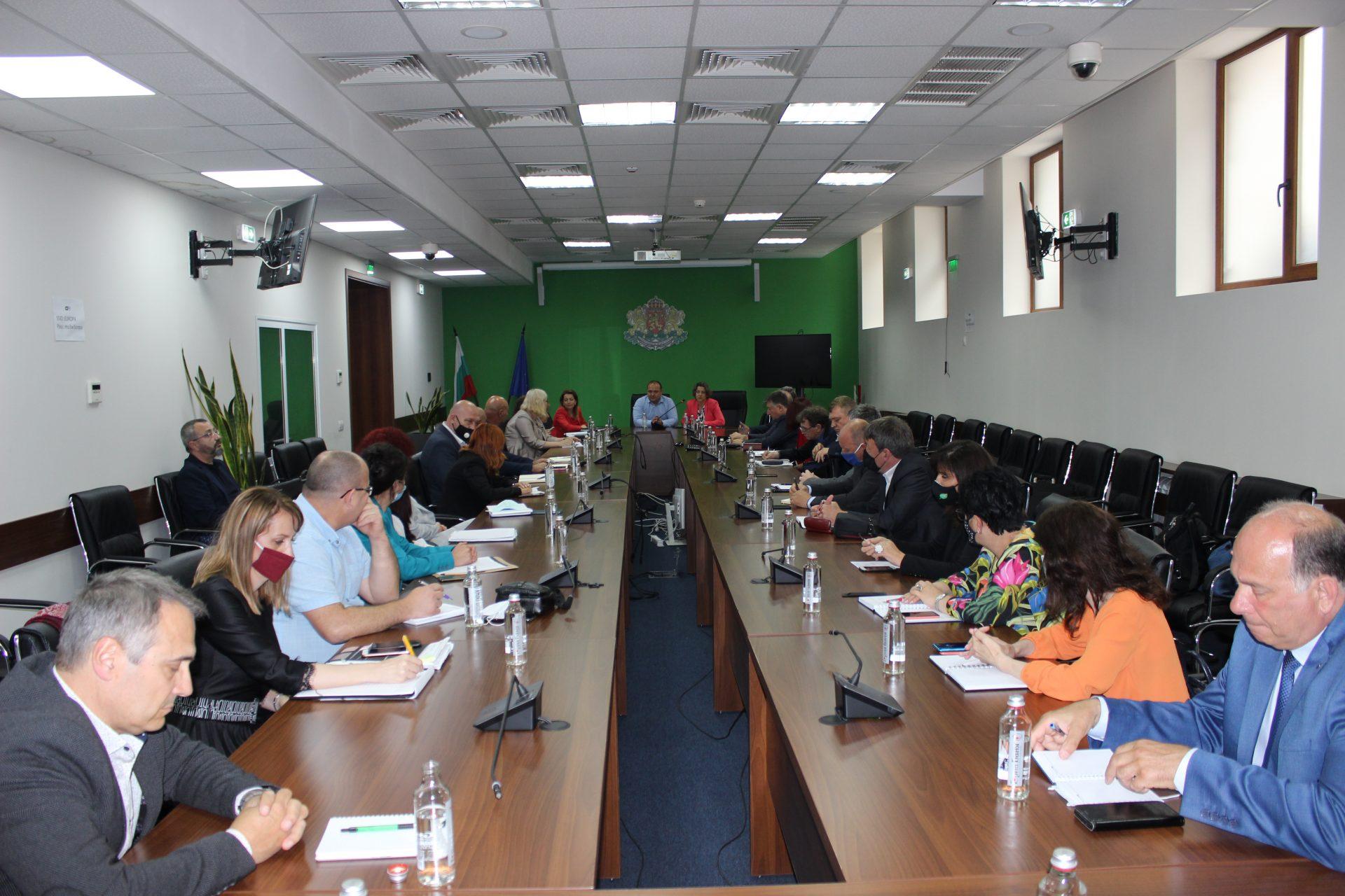Ръководството на МОСВ се срещна с директорите на регионалните структури на ведомството