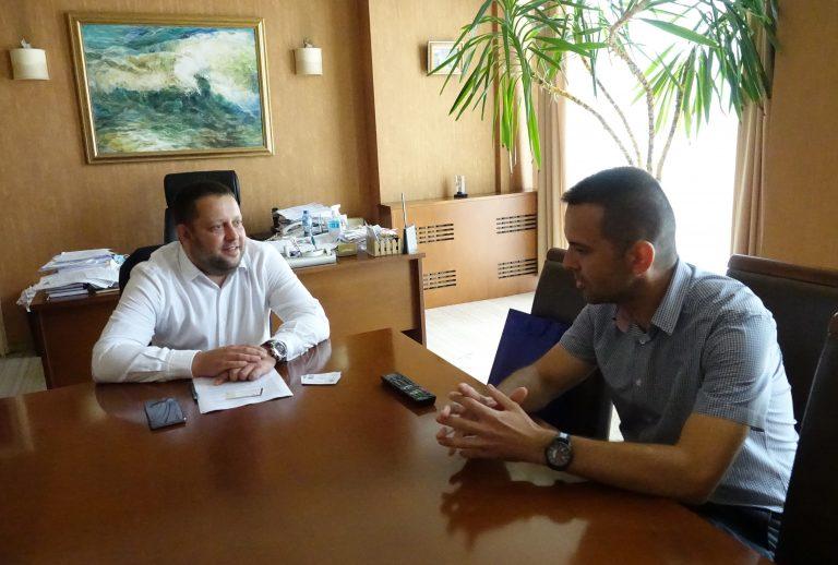 Тодор Балабанов се срещна с председателя на Общинския съвет на Цариброд
