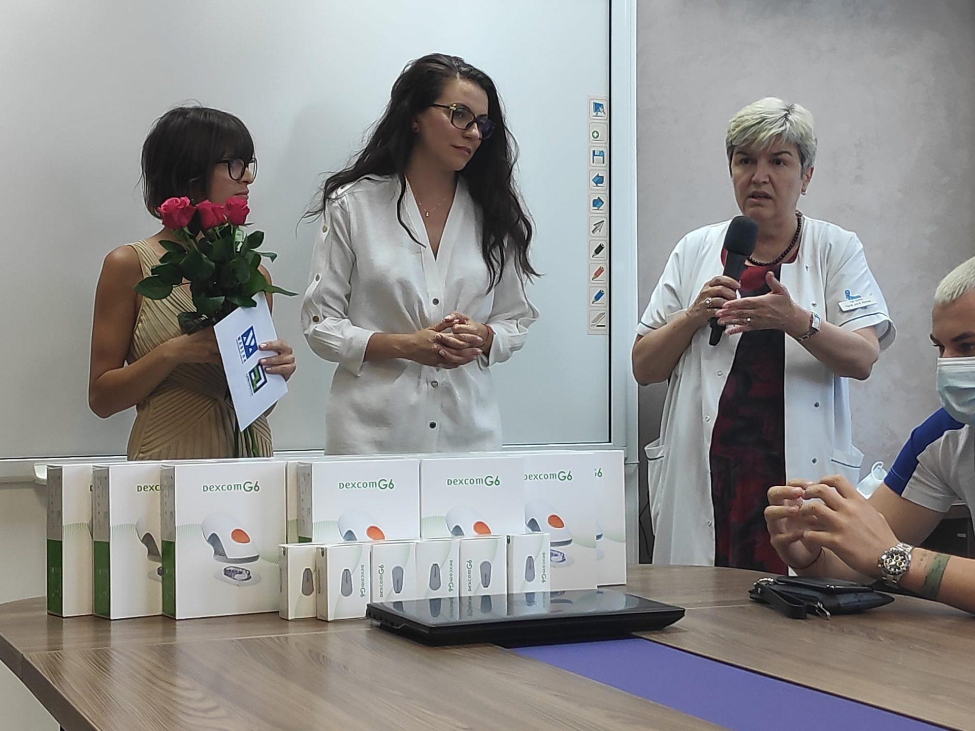 """Поредно дарение за деца с диабет в УМБАЛ """"Св. Марина"""" – Варна"""