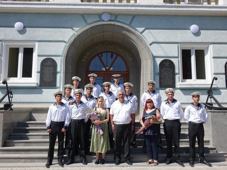 Мария Бакалова гостува в Морското училище