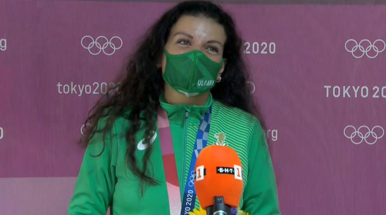 Сребърен медал за Антоанета Костадинова в Токио
