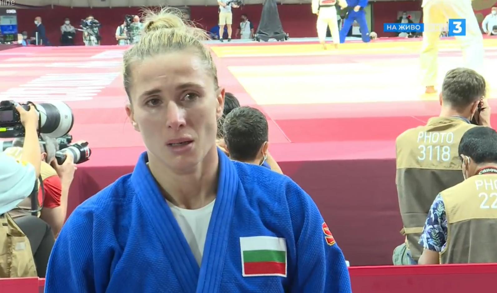 Ивелина Илиева отпадна на 1/8-финалите по джудо в Токио