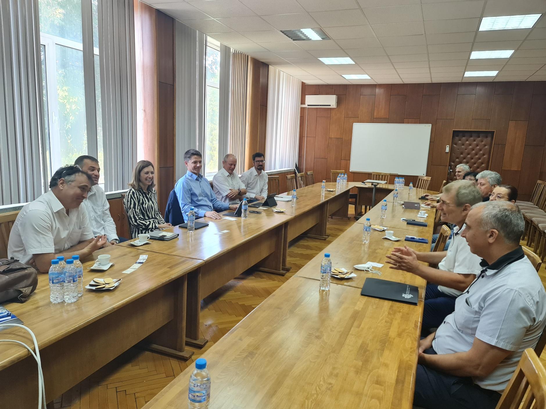Технически университет – Варна и Siemens разширяват сътрудничеството си в научната и учебната дейности