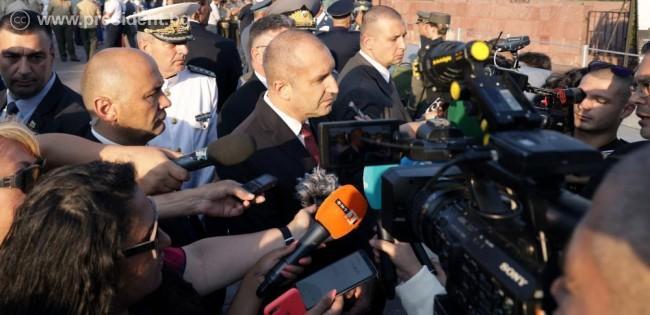 Президентът: Партиите на промяната трябва да гарантират кабинет, обединен от приоритети в интерес на българите