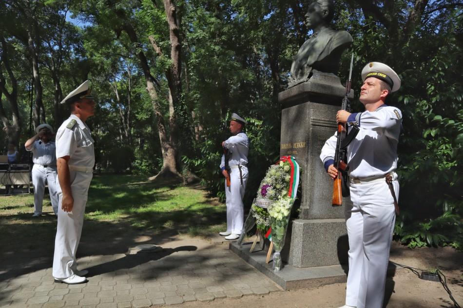 Варна отбелязва 184 години от рождението на Васил Левски