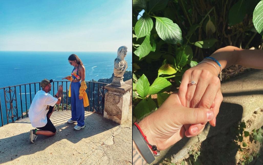 Капитанката на гимнастичките Симона Дянкова се сгоди в Италия