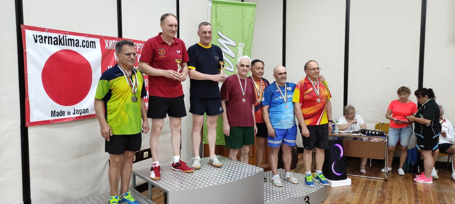 Завърши традиционният турнир по тенис на маса за ветерани
