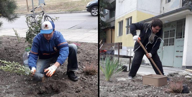 Фондация Гея облагороди поредна градинка във Варна